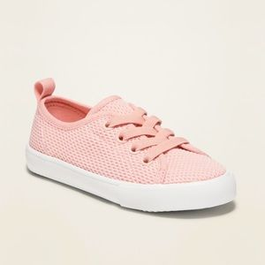 Old Navy Lace-Up Sneakers For Toddler Girls